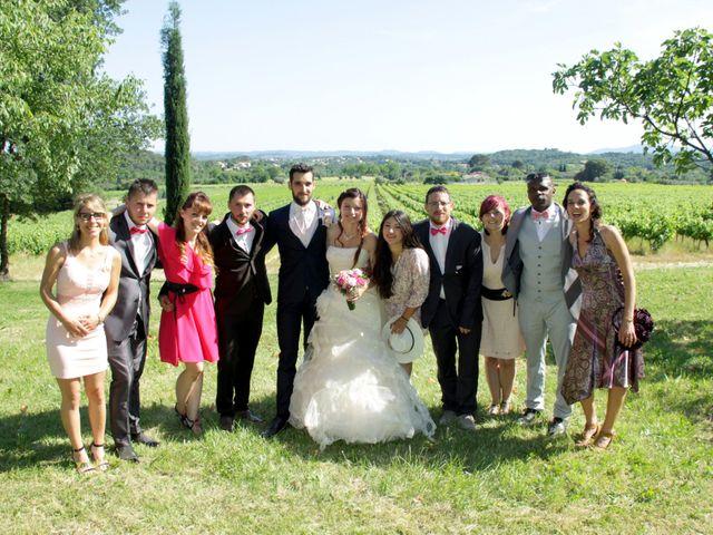 Le mariage de Sébastien et Elodie à Nîmes, Gard 45