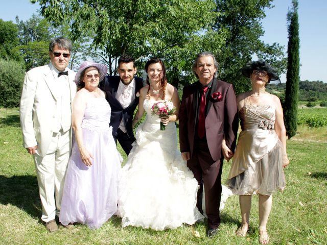 Le mariage de Sébastien et Elodie à Nîmes, Gard 48
