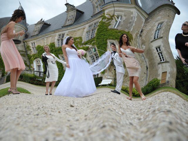 Le mariage de Julien et Angie à Brantôme, Dordogne 17