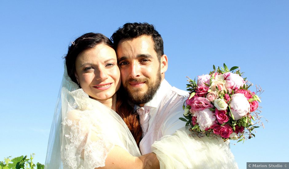 Le mariage de Sébastien et Elodie à Nîmes, Gard