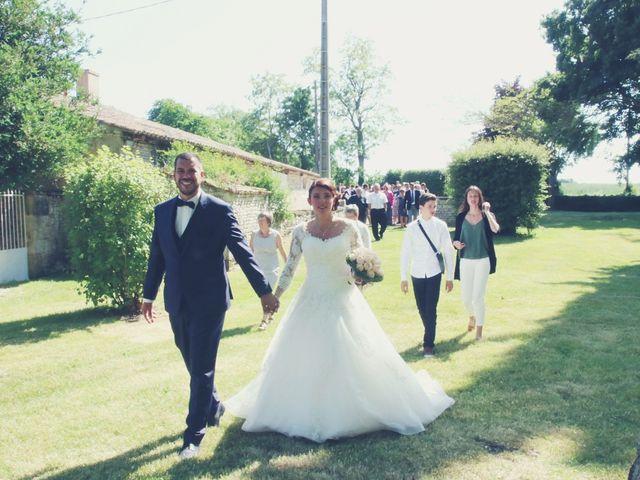 Le mariage de Julien et Anne Laure à Aiffres, Deux-Sèvres 15