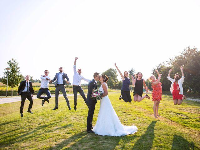 Le mariage de Cyrile et Valentine à Québriac, Ille et Vilaine 56