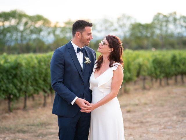 Le mariage de Joss et Christel à Aniane, Hérault 86