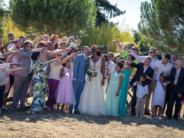 Le mariage de Amaury et Déborah à Lusignan, Vienne 11