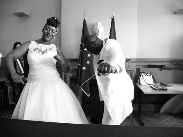 Le mariage de Aka-Paul et Octavie à Villiers-le-Bel, Val-d'Oise 7