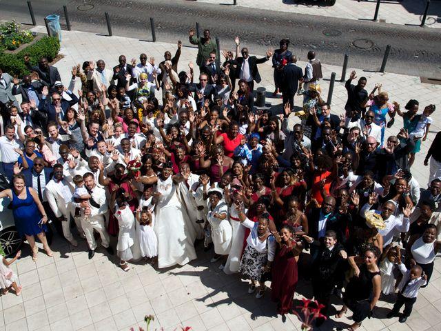 Le mariage de Aka-Paul et Octavie à Villiers-le-Bel, Val-d'Oise 9