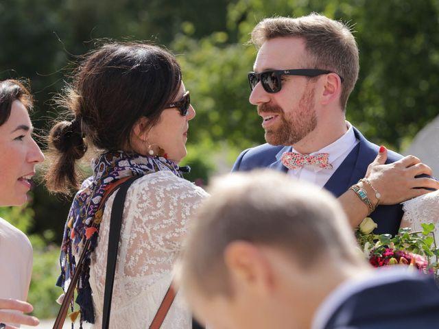 Le mariage de Martin et Agathe à La Ferté-Frênel, Orne 13