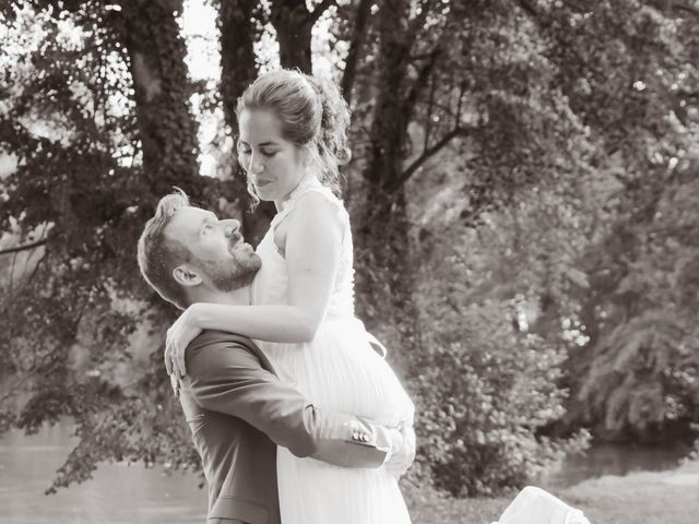 Le mariage de Martin et Agathe à La Ferté-Frênel, Orne 20