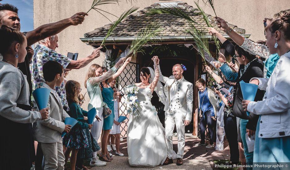 Le mariage de Bertrand et Catherine à Chavannes-sur-l'Étang, Haut Rhin
