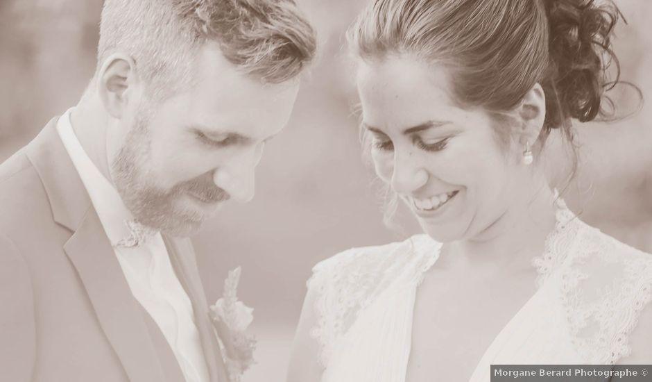 Le mariage de Martin et Agathe à La Ferté-Frênel, Orne