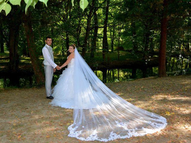 Le mariage de Guillaume et Malory à Vayres, Gironde 20