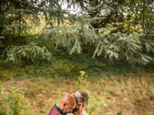 Le mariage de Yoann et Aurélie à Saint-Martin-la-Plaine, Loire 1