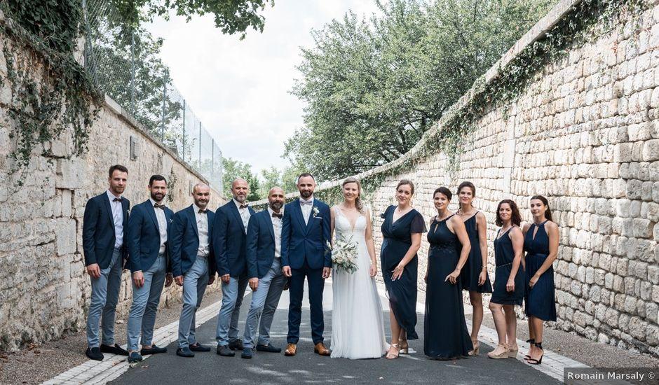 Le mariage de Régis et Fanny à Moragne, Charente Maritime