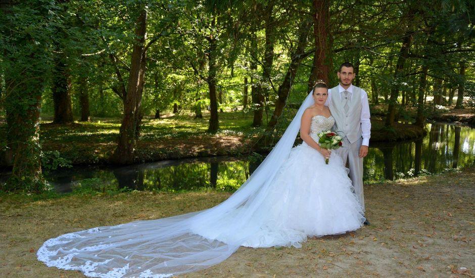 Le mariage de Guillaume et Malory à Vayres, Gironde