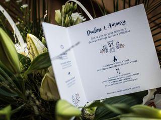Le mariage de Pauline et Amaury 1