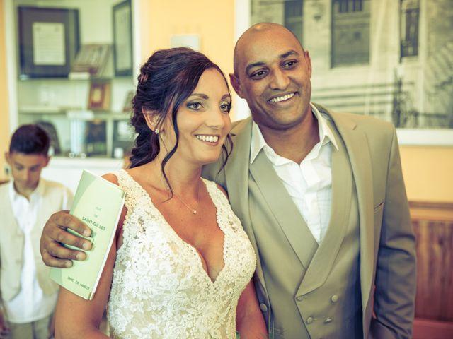 Le mariage de Benjamin et Amandine à Saint-Gilles, Gard 34