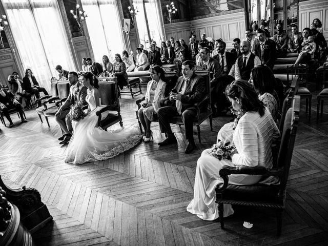 Le mariage de Axel et Stéphy à Asnières sur Seine, Hauts-de-Seine 12