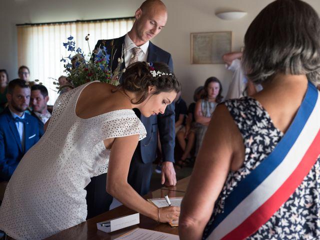 Le mariage de Clément et Coralie à Saint-Clément-de-Rivière, Hérault 69