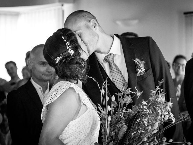Le mariage de Clément et Coralie à Saint-Clément-de-Rivière, Hérault 78