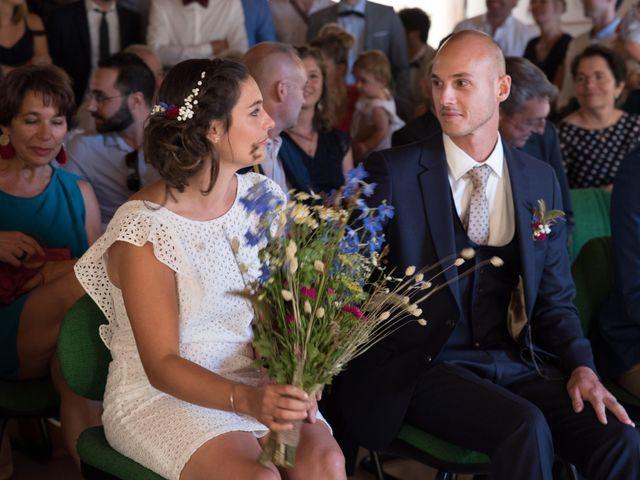 Le mariage de Clément et Coralie à Saint-Clément-de-Rivière, Hérault 92