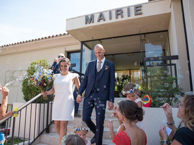 Le mariage de Clément et Coralie à Saint-Clément-de-Rivière, Hérault 96