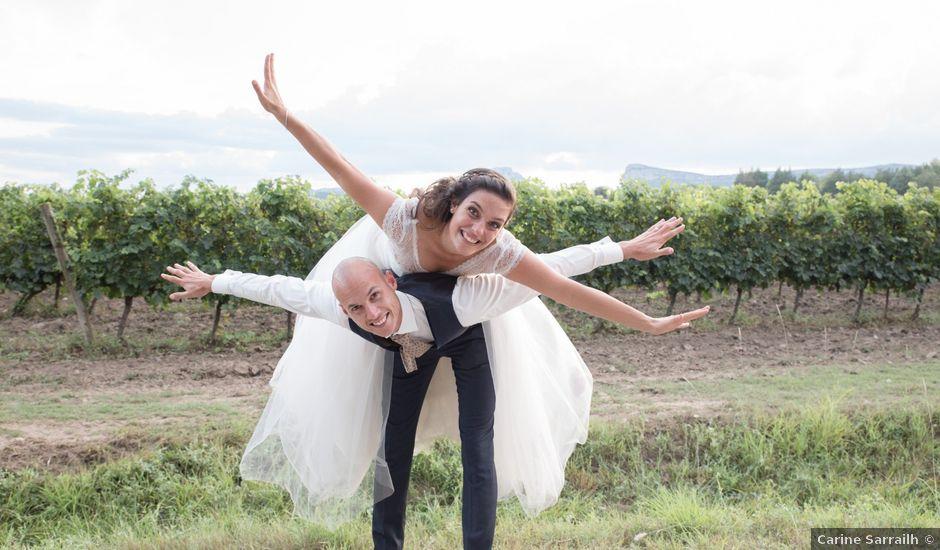 Le mariage de Clément et Coralie à Saint-Clément-de-Rivière, Hérault