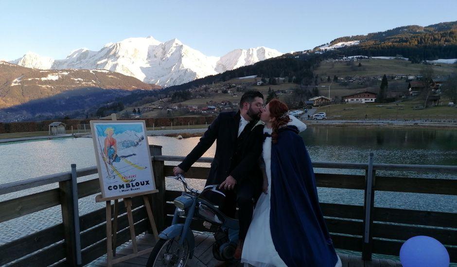 Le mariage de Benoit  et Elodie à Combloux, Haute-Savoie