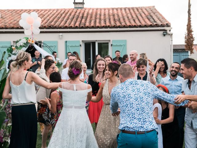 Le mariage de Benoît et Fanny à Les Gonds, Charente Maritime 36