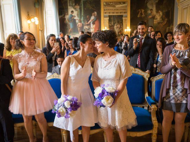 Le mariage de Zaira et Benedetta à Paris, Paris 13