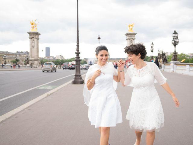 Le mariage de Zaira et Benedetta à Paris, Paris 18