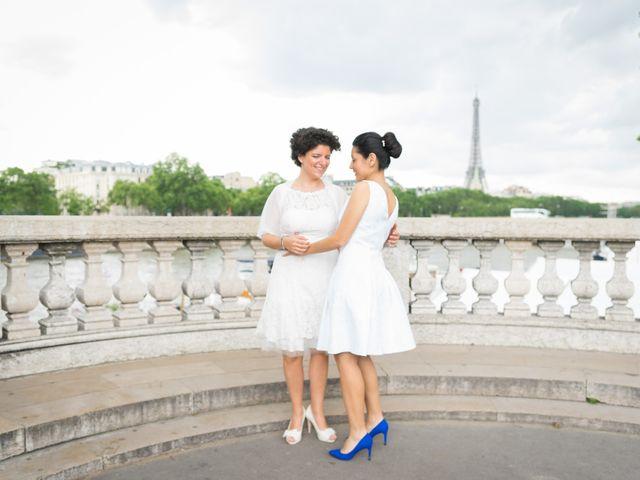 Le mariage de Zaira et Benedetta à Paris, Paris 19