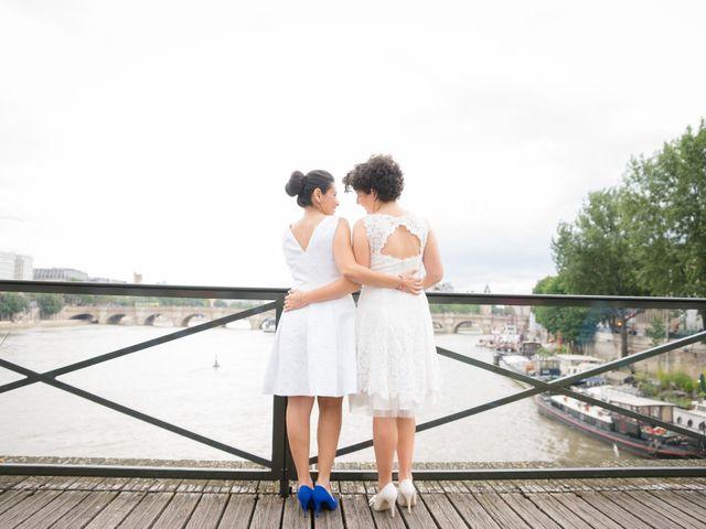 Le mariage de Zaira et Benedetta à Paris, Paris 23