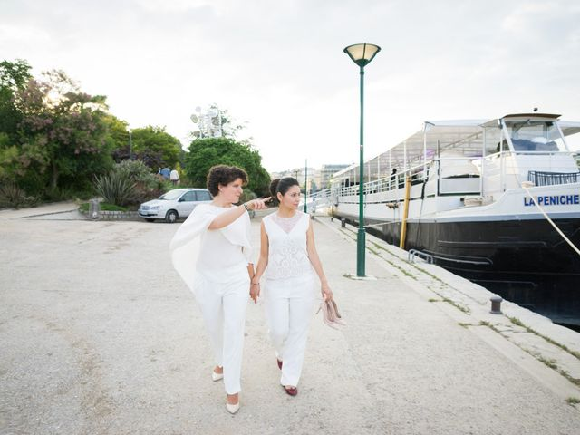 Le mariage de Zaira et Benedetta à Paris, Paris 29