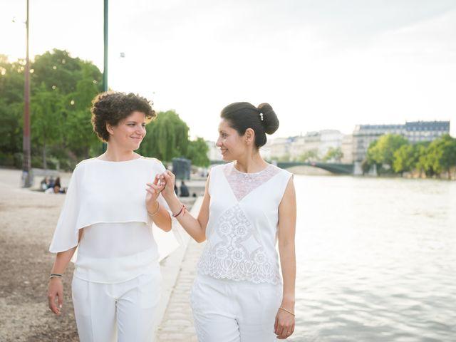 Le mariage de Zaira et Benedetta à Paris, Paris 30