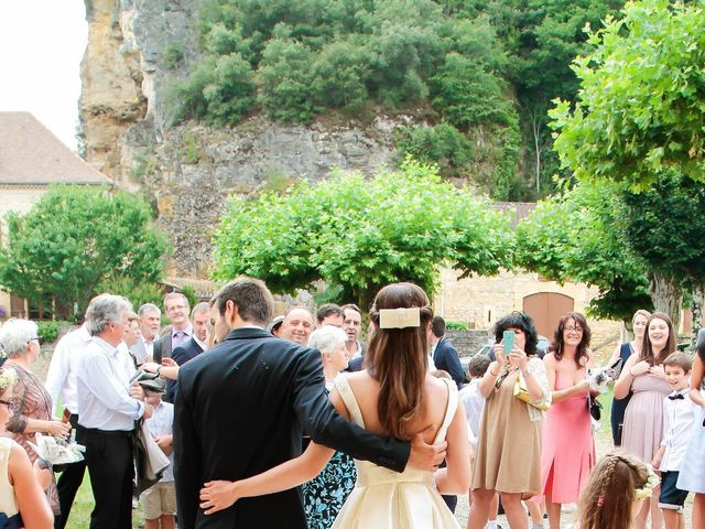 Le mariage de Jérémy et Elise à Carsac-Aillac, Dordogne 15