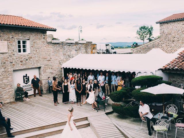 Le mariage de Eric et Marie à Chambles, Loire 27