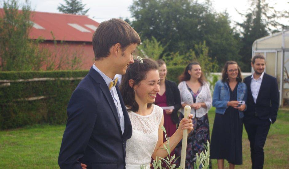 Le mariage de Valentin et Marie-Eve à Saint-Rémy-en-Mauges, Maine et Loire