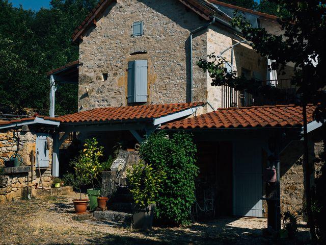 Le mariage de Corentin et Mathilde à Ambeyrac, Aveyron 1