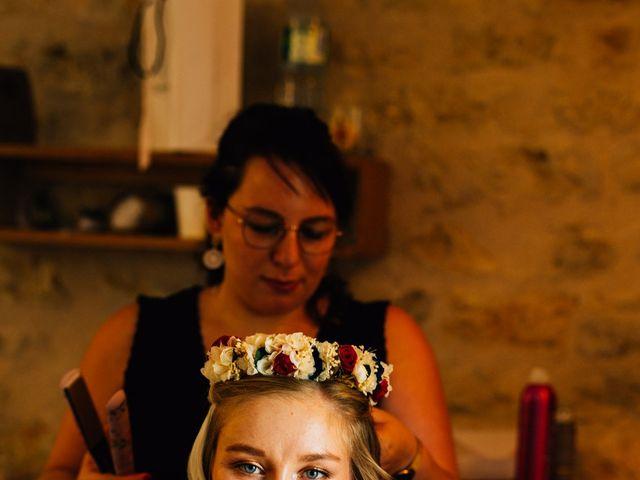 Le mariage de Corentin et Mathilde à Ambeyrac, Aveyron 16