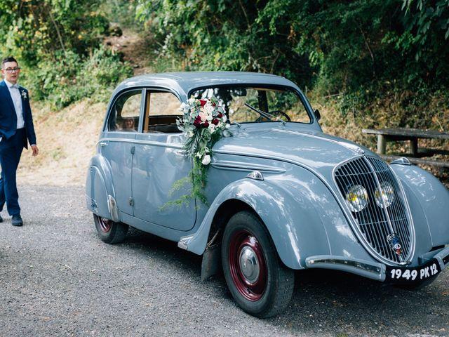 Le mariage de Corentin et Mathilde à Ambeyrac, Aveyron 31