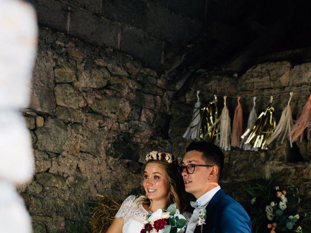 Le mariage de Corentin et Mathilde à Ambeyrac, Aveyron 38