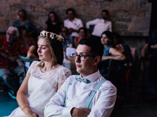 Le mariage de Corentin et Mathilde à Ambeyrac, Aveyron 61