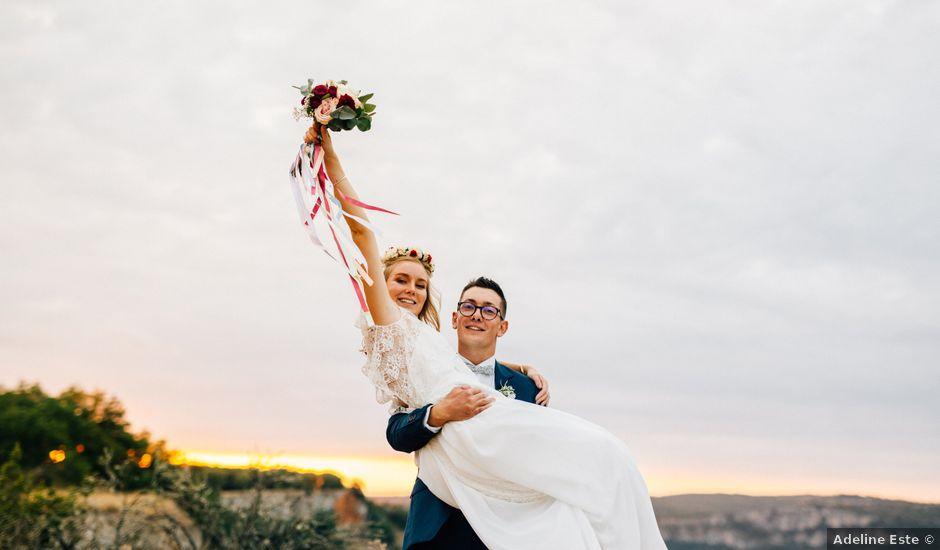 Le mariage de Corentin et Mathilde à Ambeyrac, Aveyron