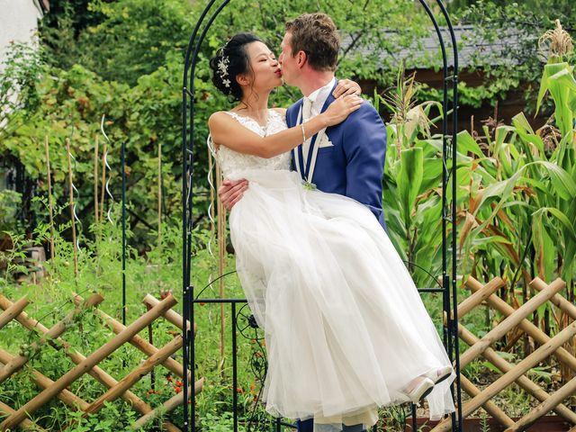 Le mariage de Pierre et Yuelian à Carrières-sur-Seine, Yvelines 23