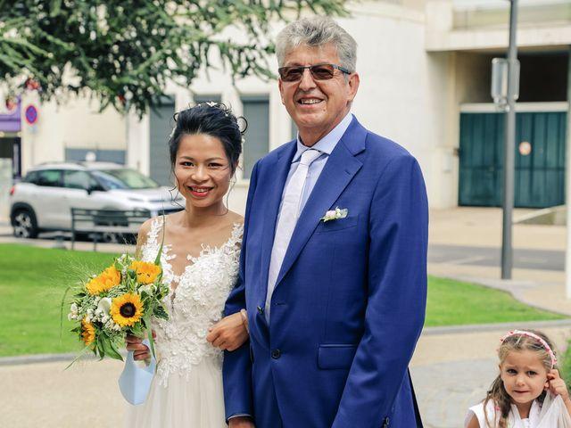 Le mariage de Pierre et Yuelian à Carrières-sur-Seine, Yvelines 32