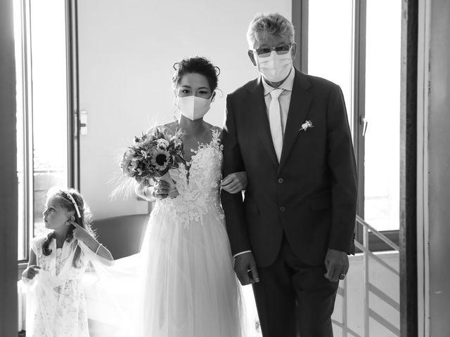 Le mariage de Pierre et Yuelian à Carrières-sur-Seine, Yvelines 36