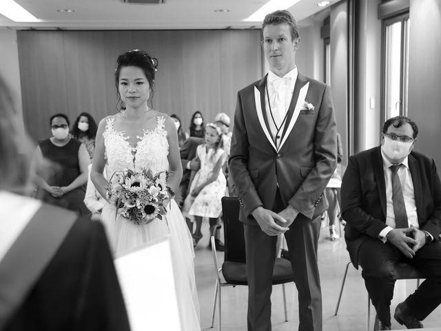 Le mariage de Pierre et Yuelian à Carrières-sur-Seine, Yvelines 39