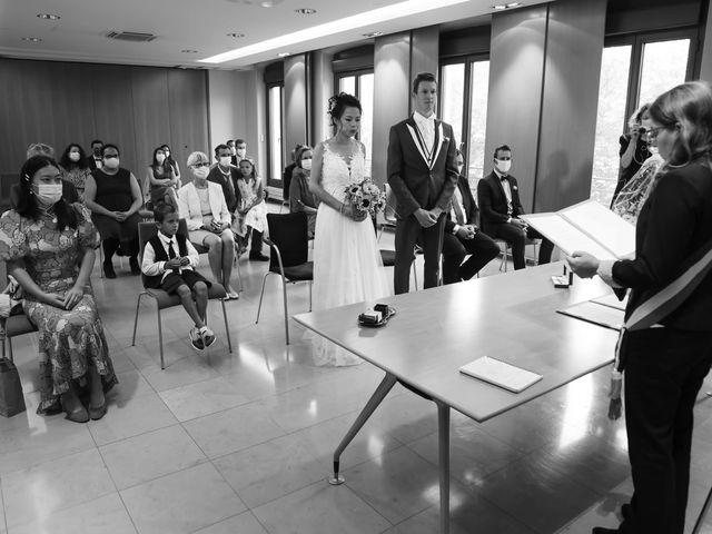 Le mariage de Pierre et Yuelian à Carrières-sur-Seine, Yvelines 44