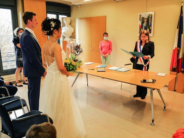 Le mariage de Pierre et Yuelian à Carrières-sur-Seine, Yvelines 46