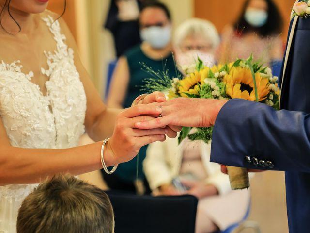 Le mariage de Pierre et Yuelian à Carrières-sur-Seine, Yvelines 53